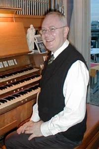 Organist John Walko